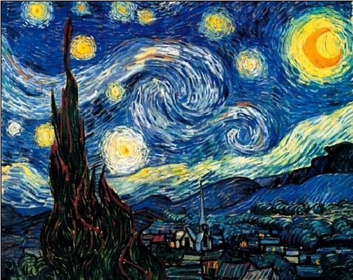 The Starry Night, 1889 Reproducere