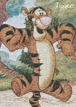 TIGER - photomosaic Poster