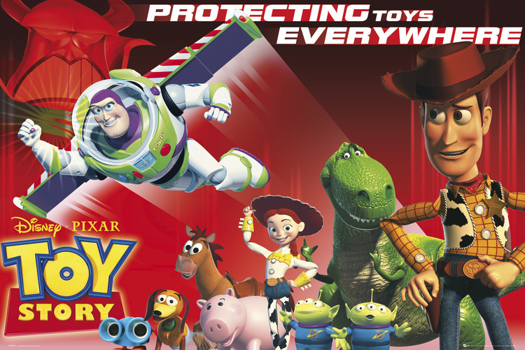 TOY STORY - protect Poster