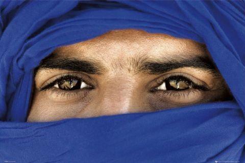 Tuareg - eyes Poster