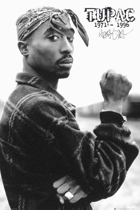 Tupac - fist Poster
