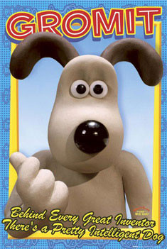 WALLACE & GROMIT - Gromit Poster