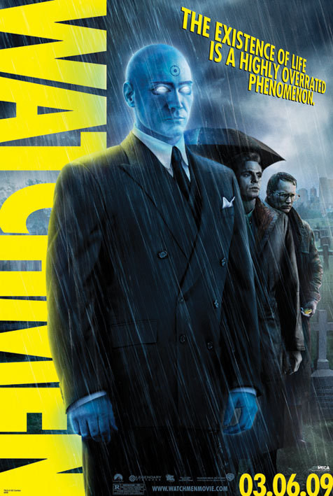 WATCHMEN - dr manhattan Poster