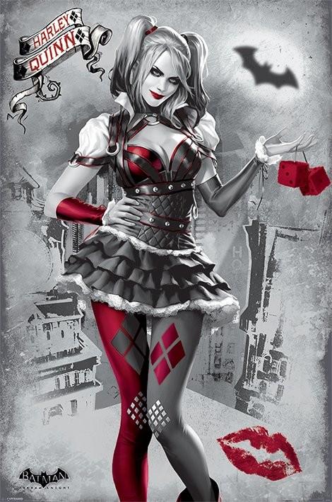 Poster Batman Arkham Knight - Harley Quinn