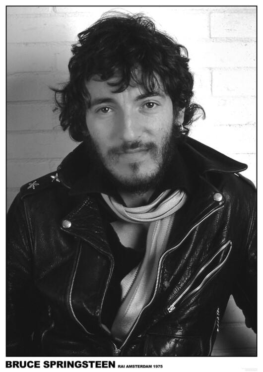 Poster Bruce Springsteen - Rai Amsterdam 1975