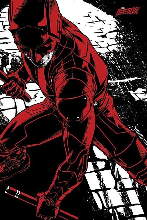 Poster Daredevil TV Series - Fight