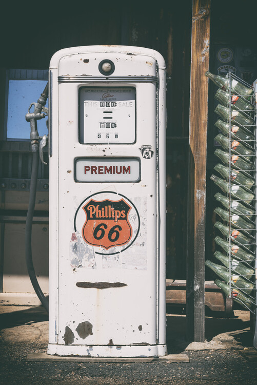 American West - Gas Station Premium 67 Poster Mural XXL