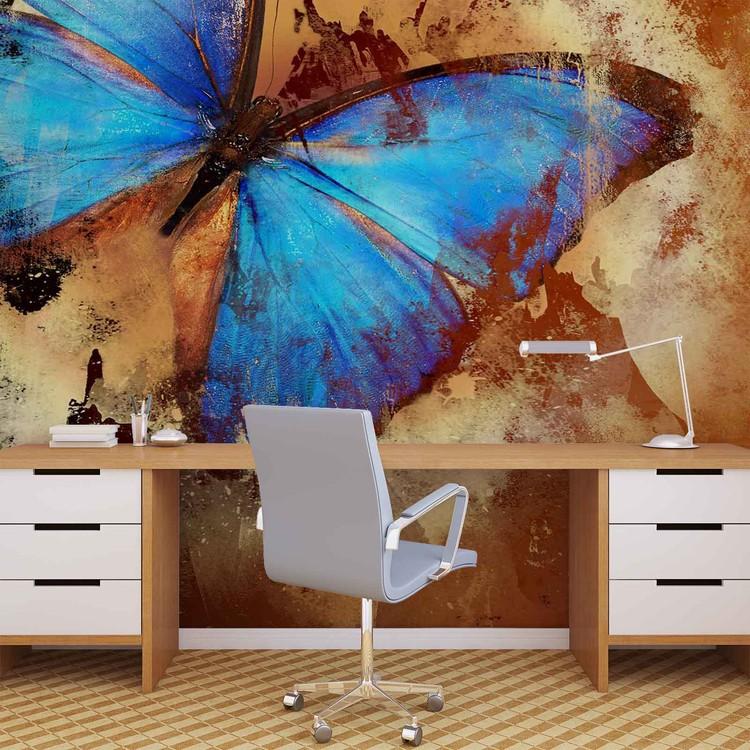 art papillon poster mural papier peint acheter le sur. Black Bedroom Furniture Sets. Home Design Ideas