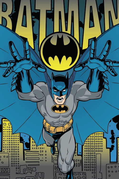 Batman - Action Hero Poster Mural XXL
