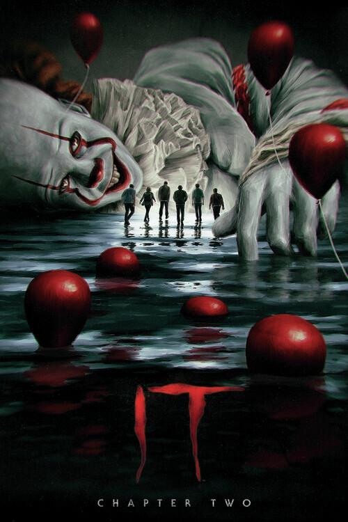 Ça: Chapitre 2 -  Grippe-Sou Poster Mural XXL