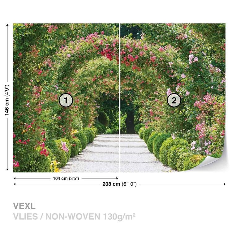 chemin du jardin nature poster mural papier peint acheter le sur. Black Bedroom Furniture Sets. Home Design Ideas