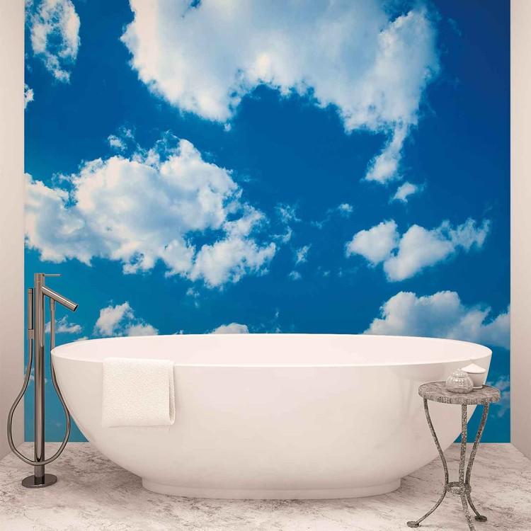 ciel nuageux nature poster mural papier peint acheter. Black Bedroom Furniture Sets. Home Design Ideas