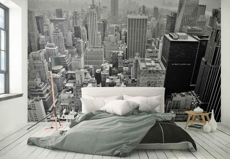 Carta Parati Classica Toile Elegance: Classic New York Poster Mural, Papier Peint