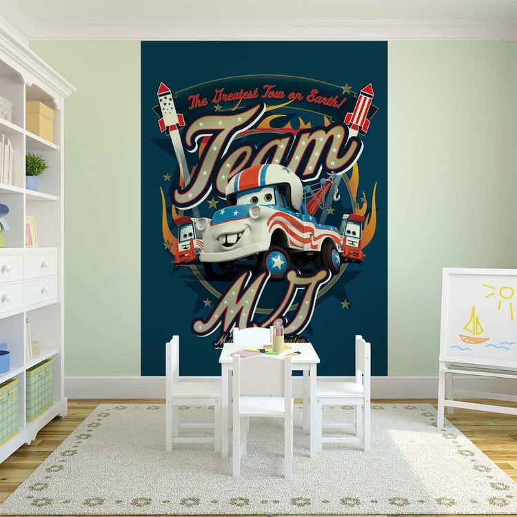 disney cars poster mural papier peint acheter le sur. Black Bedroom Furniture Sets. Home Design Ideas