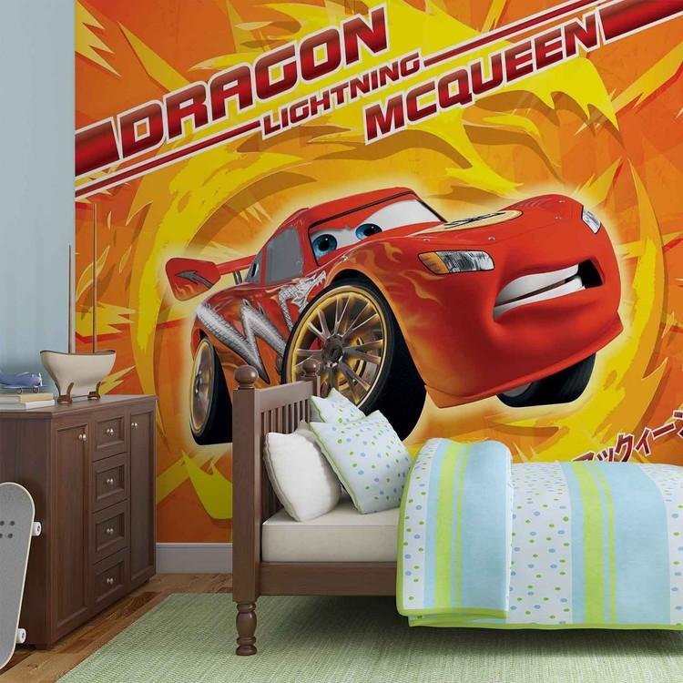 disney cars lightning mcqueen poster mural papier peint acheter le sur. Black Bedroom Furniture Sets. Home Design Ideas