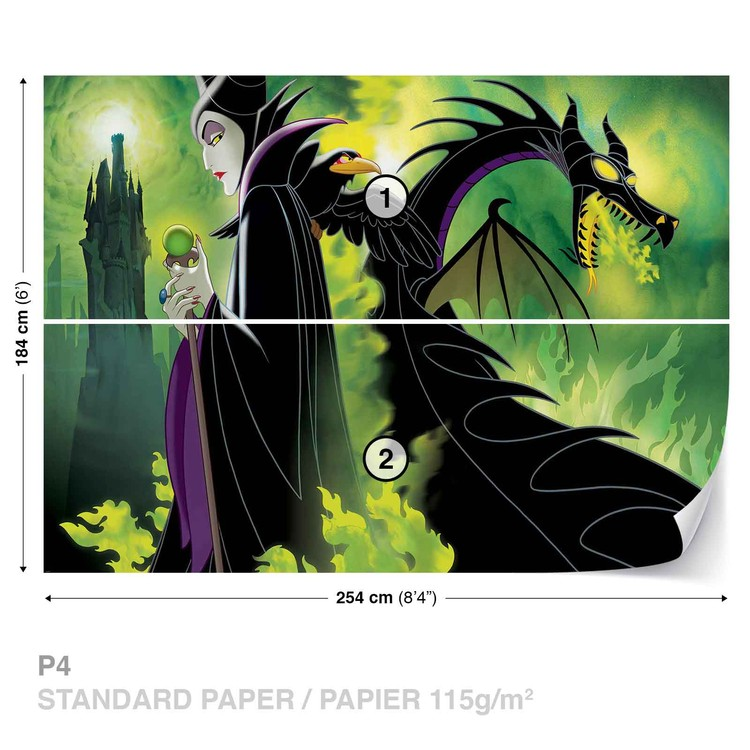 Disney Maléfique Poster Mural XXL