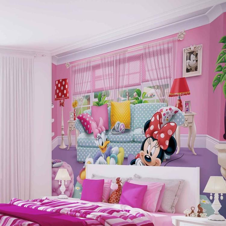 disney minnie mouse poster mural papier peint acheter. Black Bedroom Furniture Sets. Home Design Ideas