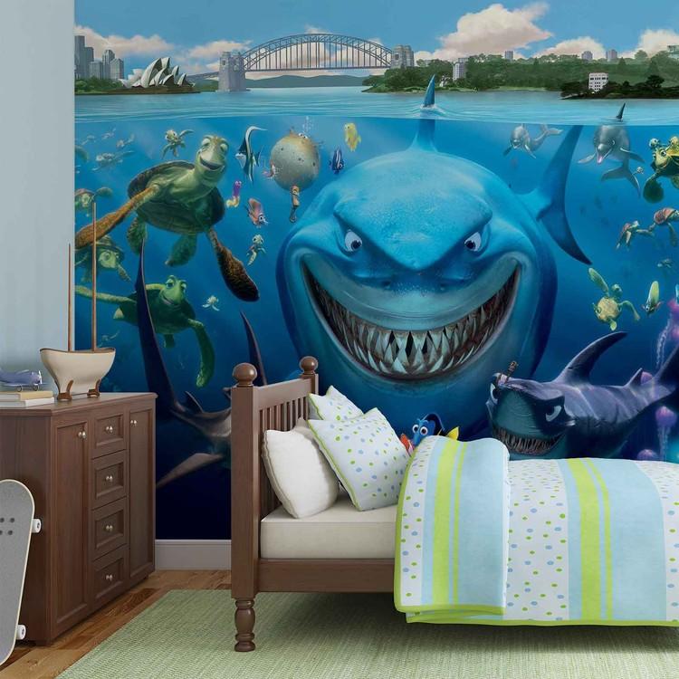 disney nemo poster mural papier peint acheter le sur. Black Bedroom Furniture Sets. Home Design Ideas