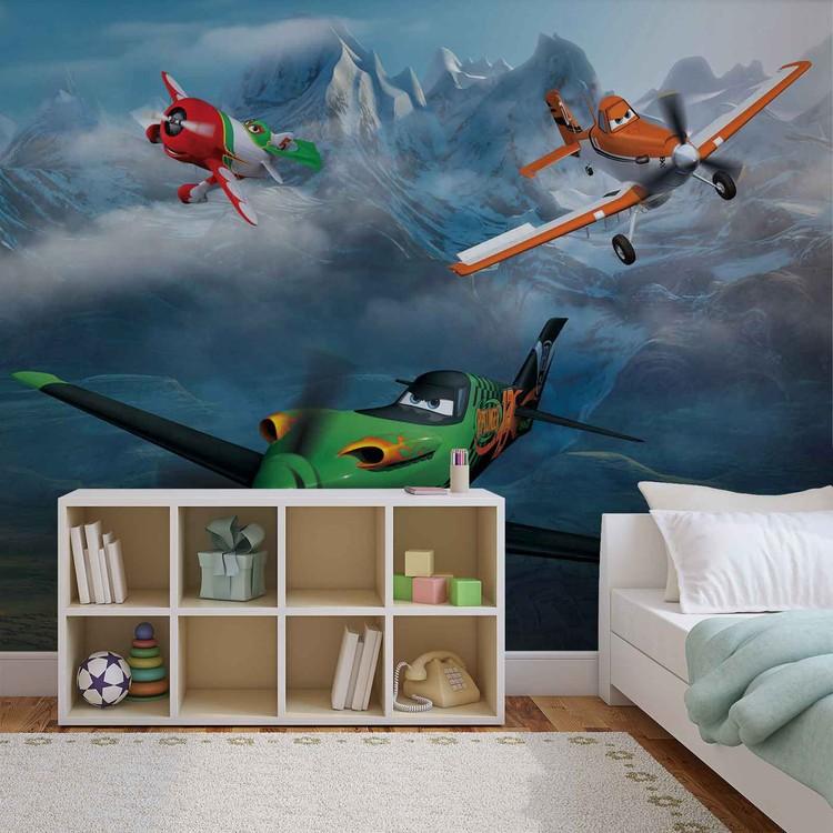 disney planes poster mural papier peint acheter le sur. Black Bedroom Furniture Sets. Home Design Ideas