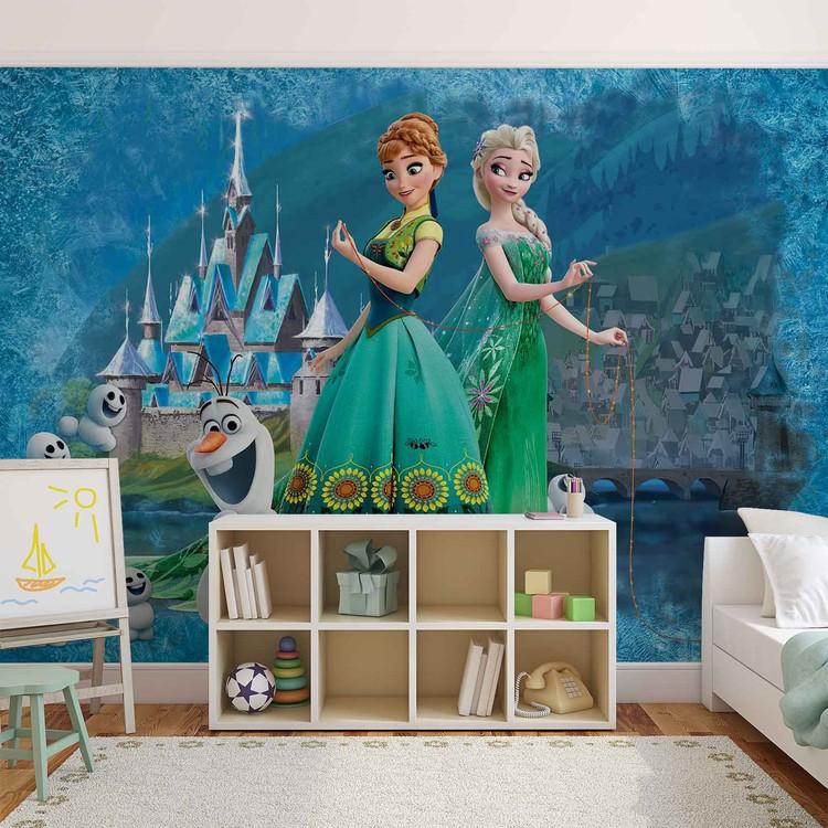 disney reine des neiges poster mural papier peint. Black Bedroom Furniture Sets. Home Design Ideas