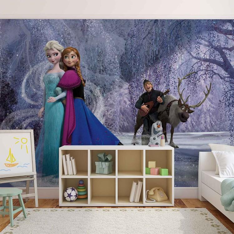 Disney Reine des Neiges Elsa Anna Poster Mural XXL