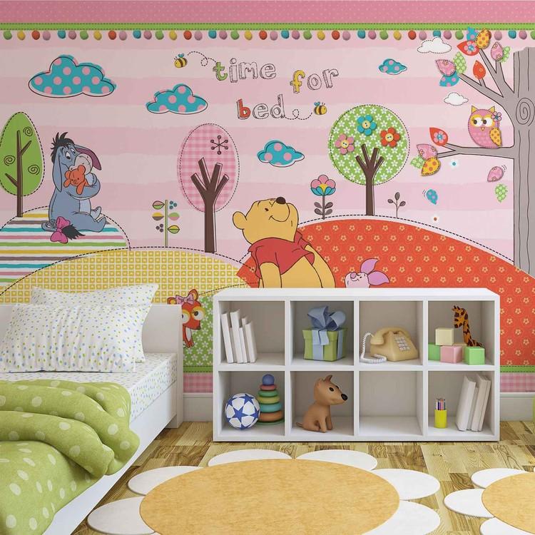 disney winnie l 39 ourson poster mural papier peint. Black Bedroom Furniture Sets. Home Design Ideas