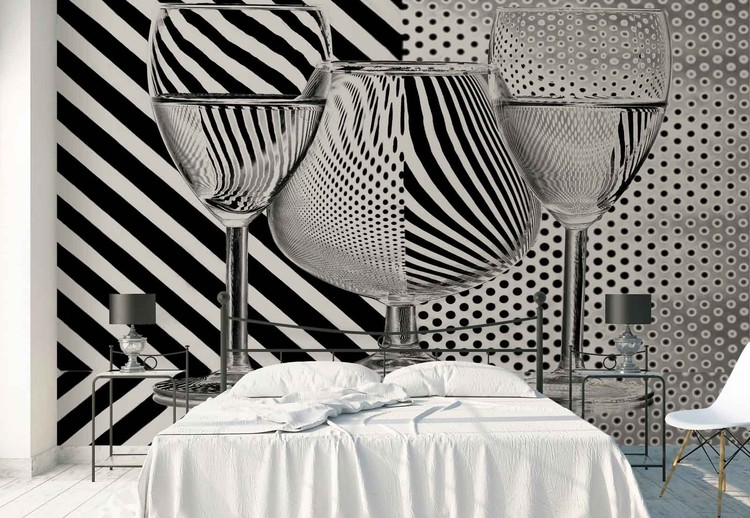 Dots And Stripes Poster Mural XXL