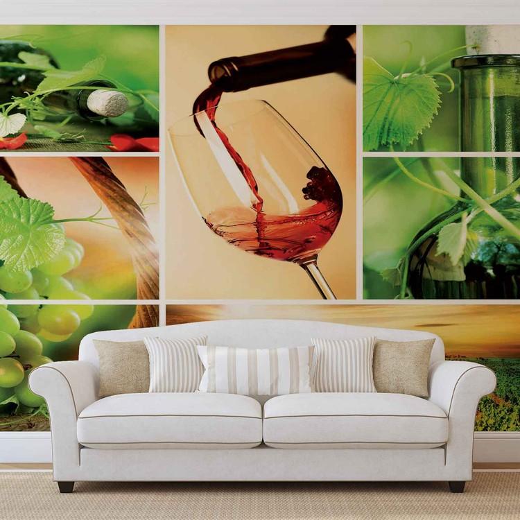 Du vin Poster Mural XXL
