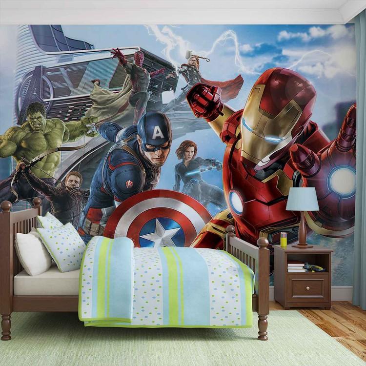 équipe Marvel Avengers Poster Mural Papier Peint Acheter Le Sur