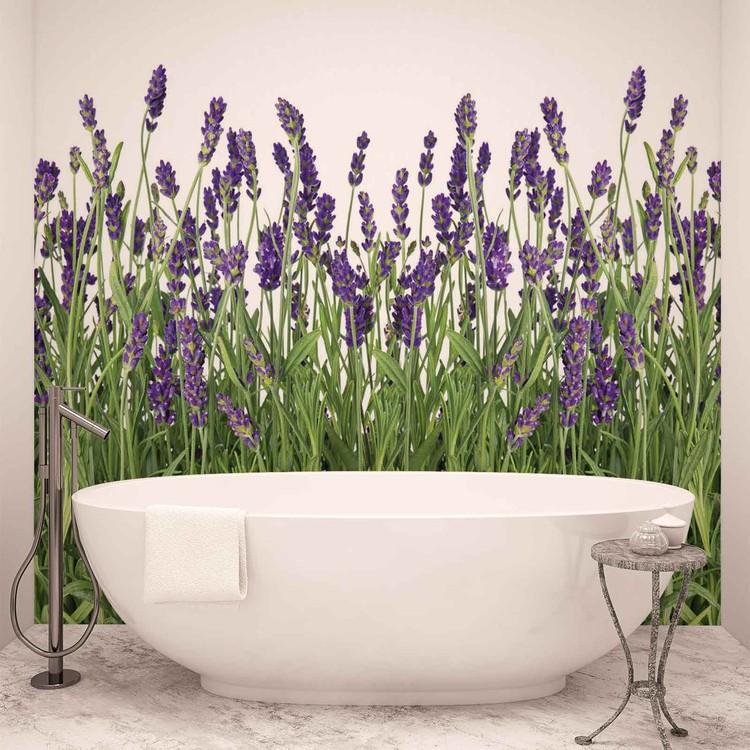 fleurs lavande poster mural papier peint acheter le sur. Black Bedroom Furniture Sets. Home Design Ideas