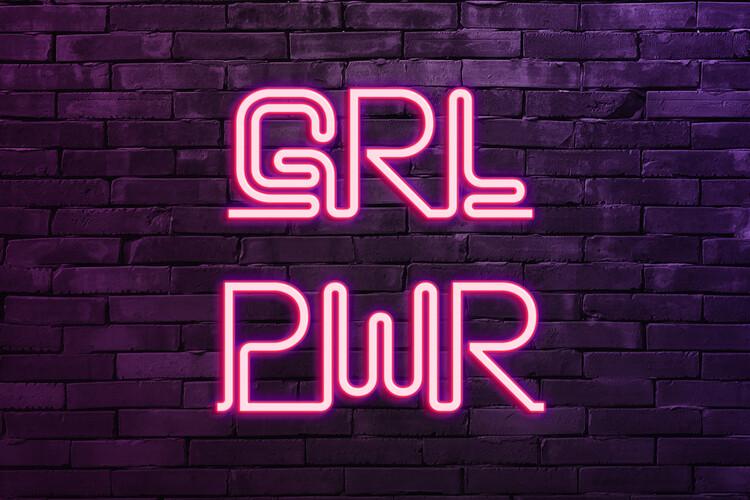 Girl power Poster Mural XXL