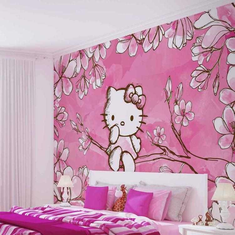 Hello Kitty Poster Mural Papier Peint Acheter Le Sur Europosters Fr