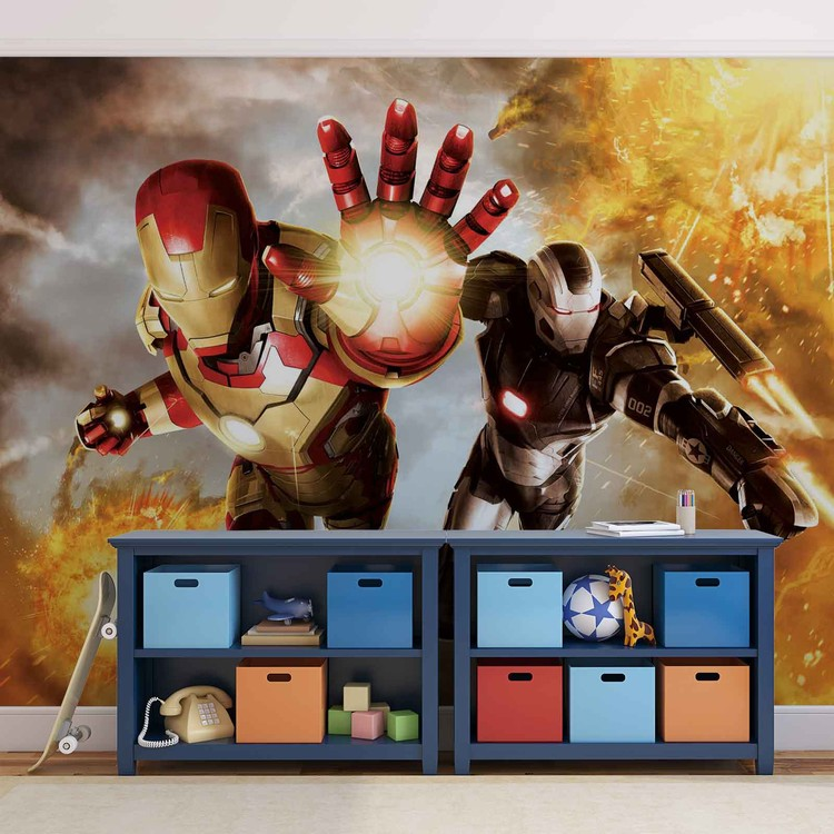 Iron Man Marvel Avengers Poster Mural XXL