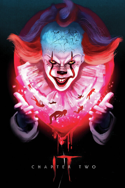 IT Chapter Two - Pennywise Poster Mural XXL