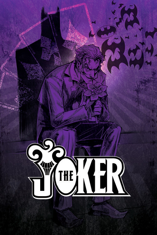 Joker - In the shadow Poster Mural XXL