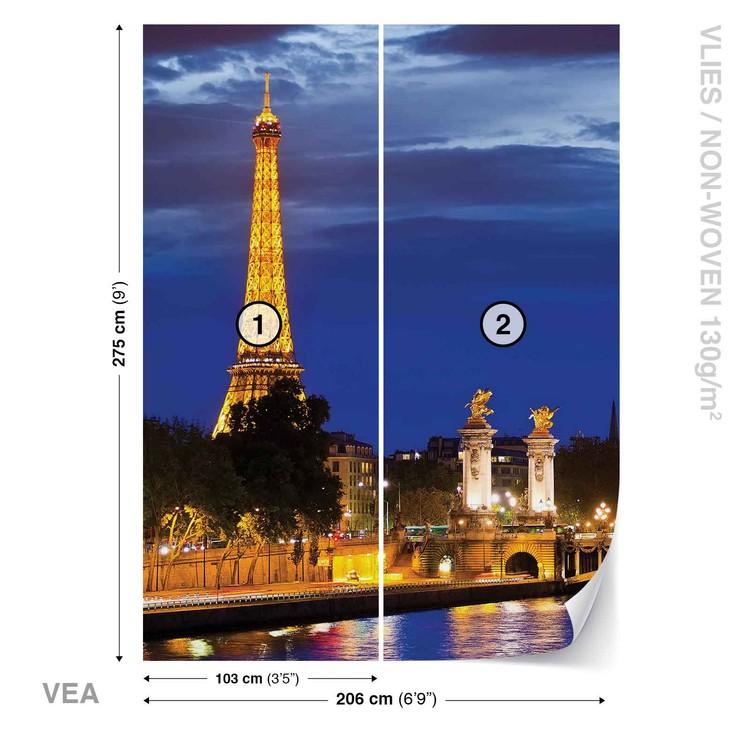 La tour Eiffel Poster Mural XXL