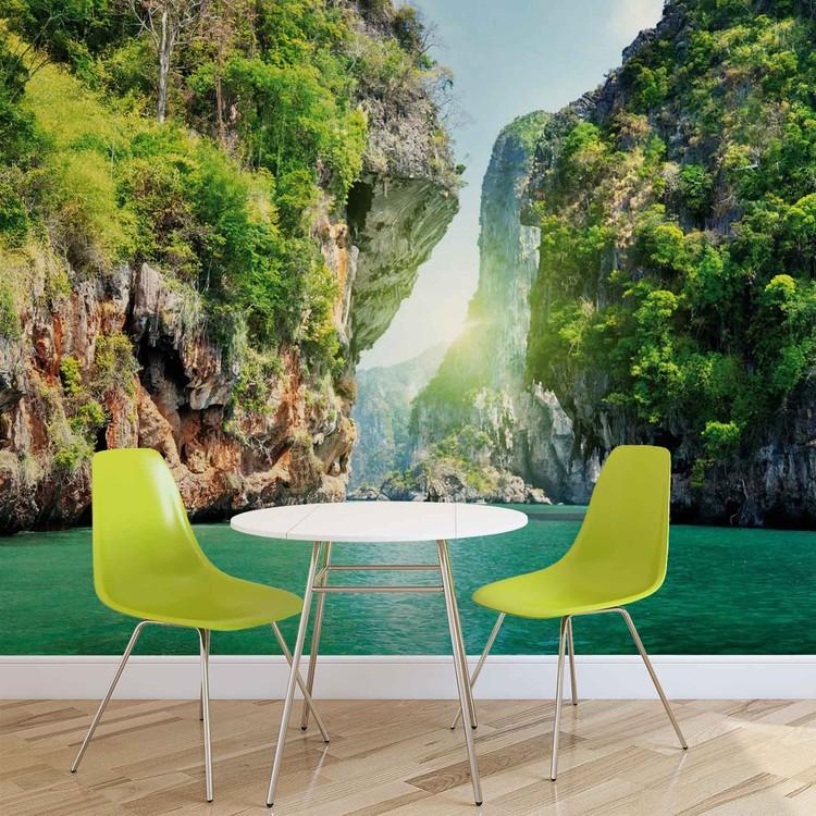 lagune poster mural papier peint acheter le sur. Black Bedroom Furniture Sets. Home Design Ideas
