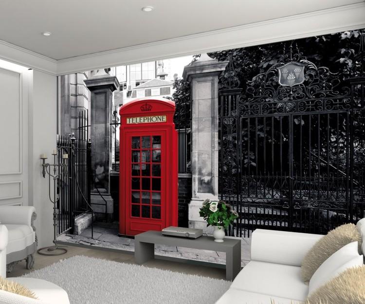 /Souvenirs Anglais/ /Classic London Miniature/ /Bo/îte de Pi/èce de Monnaie Unique/ /Londres Cabine T/él/&eac M/étal Rouge London Cabine T/él/éphone Tirelire/