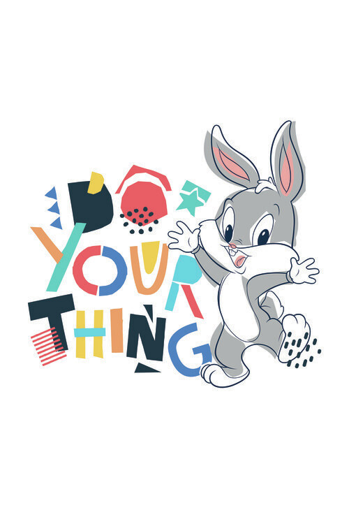 Looney Tunes - Little bunny Poster Mural XXL