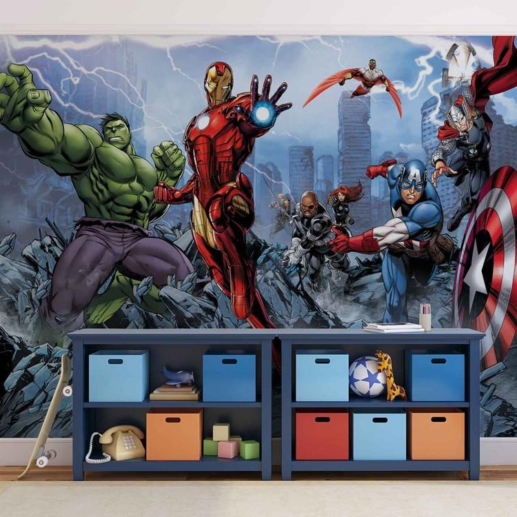 Marvel Avengers Poster Mural Papier Peint Acheter Le Sur