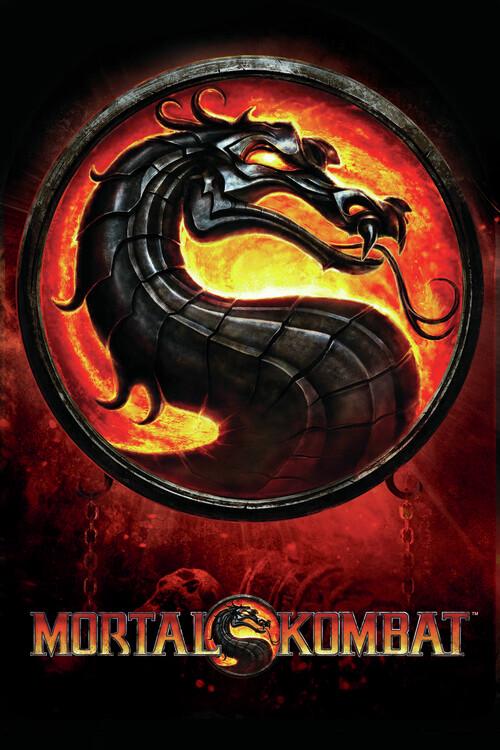 Mortal Kombat - Dragon Poster Mural XXL