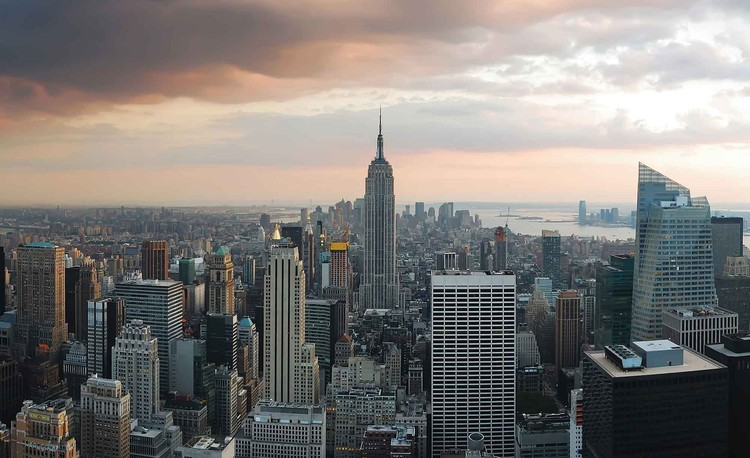 New York City Empire State Building Poster Mural XXL