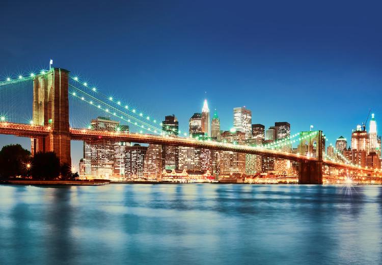NEW YORK EAST RIVER  Poster Mural XXL