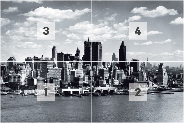 Foto Murales New York.New York Poster Mural Xxl
