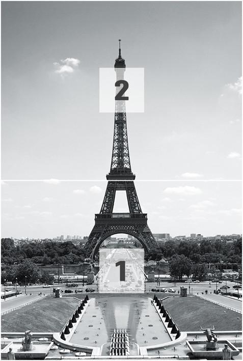 Paris la tour eiffel poster mural papier peint - Poster xxl paris ...
