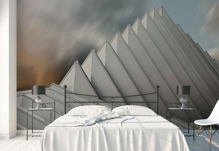 pyramid lille poster mural papier peint acheter le sur. Black Bedroom Furniture Sets. Home Design Ideas
