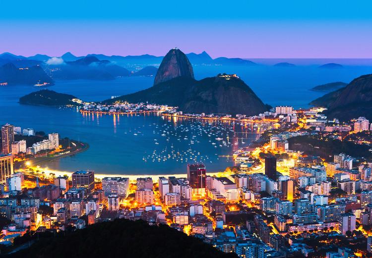 RIO DE JANEIRO  Poster Mural XXL