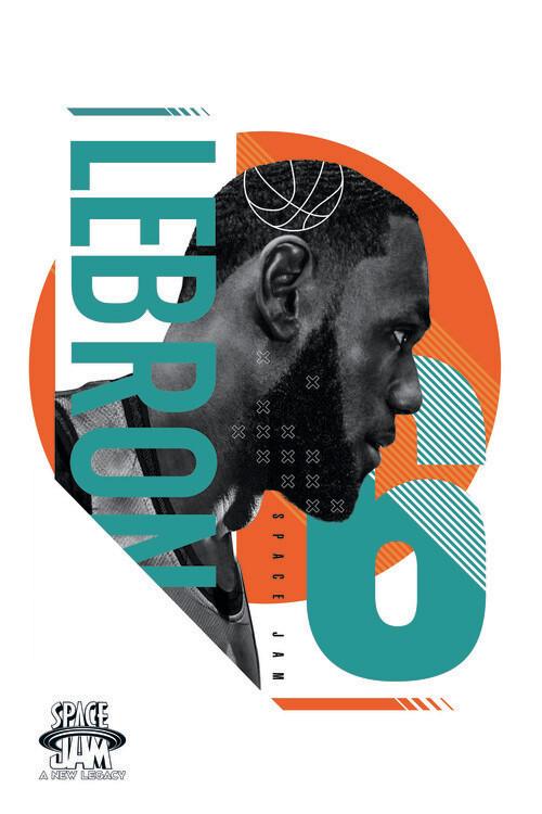 Space Jam 2 - LeBron James 6 Poster Mural XXL