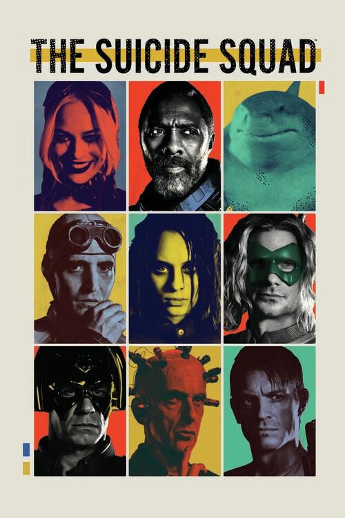 Suicide Squad 2 - Crew II Poster Mural XXL