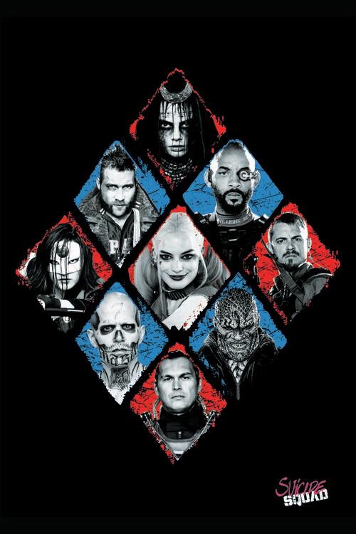 Suicide Squad - Crew Poster Mural XXL